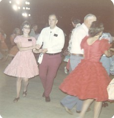 1974 - Ginny & Jerry Square Dancing at Expo '74 (3) (The Cardboard America Archives) Tags: expo74 spokane washington foundphoto 1974 worldsfair
