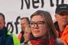 Marie Sneve Martinussen (rødt.no) Tags: mariesnevemartinussen streik mariesneve rødt nestleder politiskstreik jernbanereformen