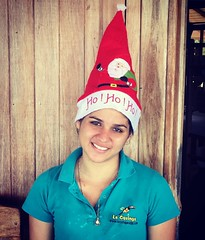 Getting ready for the holidays. #happyholidays decorations process. At the land of #puravida #costarica. LaCusingaLodge.com