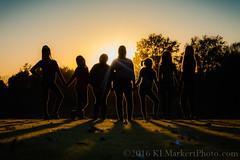 Seven Sisters Silhouette (KLMP) Tags: familyportraits silhouette sun flare