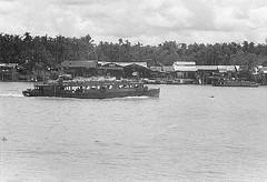 Mekong River (Gene Whitmer) Tags: 1972 delta dinhtuong mekongriver mytho vietnam