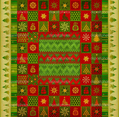 Christmas ornament carpet (TaraFinley) Tags: carpet abstract background card christmas design holiday flake merry new newyear snowflake spruce tree winter wallpaper xmas year illustration green fir firtree seamless pattern textile texture textured fabric print paper embroidery fancywork handicraft knit knitwear ornament tapis