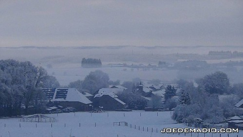 View on Foy, Bastogne.  One week out from the Bastogne Band of Brothers Actors Reunion!
