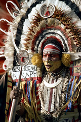 28-007 (ndpa / s. lundeen, archivist) Tags: man color film face festival fiji 35mm necklace costume clothing ribbons traditional nick feathers culture makeup andrew suva southpacific warrior 28 tradition 1970s facepaint performer 1972 necklaces spear headdress dewolf oceania fijian pacificartsfestival pacificislands kape festivalofpacificarts southpacificislands nickdewolf mekeo photographbynickdewolf festpac pacificislandculture southpacificfestival reel28 southpacificartsfestival akape inawaia southpacificfestivalofarts fiji72