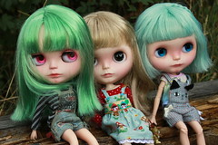 Dollily & Maiki customs together