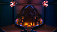 Fireplace (eXalk) Tags: abstract art geometric digital design 3d render dream grafik glossy fantasy fractal computergrafik mandelbulb3d