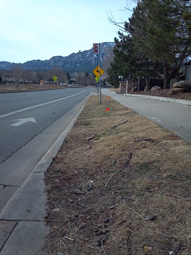 Photo - Transit Stop Improvements Example Existing Conditions