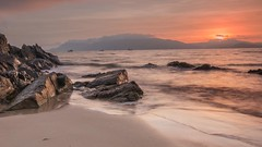 (Baldy Doyle) Tags: beach sunrise dawn peninsula donegal fanad portsalon