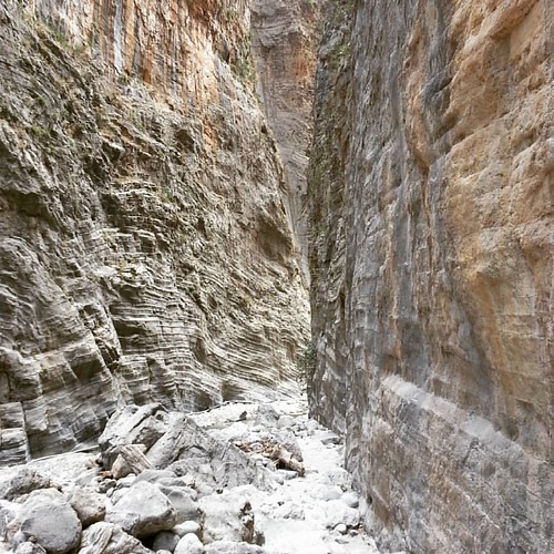 A foot numbing 13 km #trek through #samaria #gorge turned out to be a challenging yet rewarding experience. Good to know that I am still fit enough to pull it off. #crete #greece