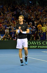 Done it! (One more shot Rog) Tags: andy glasgow australia tennis andymurray win wins annabel murray won winning annabelcroft cupgreatbritain