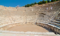 Roofless (City Council Chambers) (hecticskeptic) Tags: turkey ephesus libraryofcelsus templeofhadrian bouleuterion nymphaeumtraiani markamorgan