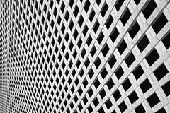 Innumerable (UrbanCyclops) Tags: city windows urban blackandwhite usa abstract building tower monochrome lines facade skyscraper downtown pattern texas patterns unitedstatesofamerica houston repetition metropolis minimalism