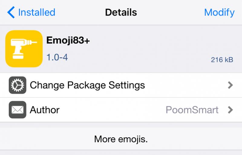 វិធីសាស្រ្តបន្ថែមរូប Emoji ថ្មីៗរបស់ iOS 9 នៅលើជំនាន់ iOS មុនៗ (9.0.2 ដល់ 8.x)