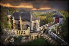Sainte-Barbe du Faouët - Octobre 2015 (Philippe Hernot) Tags: saintebarbe lefaouët 56 morbihan bretagne france philippehernot kodachrome sunset eglise church chapelle chapel nikond700 nikon posttraitement