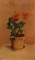 redon_pot_geraniums (Art Gallery ErgsArt) Tags: museum painting studio poster artwork gallery artgallery fineart paintings galleries virtual artists artmuseum oilpaintings pictureoftheday masterpiece artworks arthistory artexhibition oiloncanvas famousart canvaspainting galleryofart famousartists artmovement virtualgallery paintingsanddrawings bestoftheday artworkspaintings popularpainters paintingsofpaintings aboutpaintings famouspaintingartists
