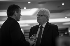 Les Reed greets Bryan Robson (bigboysdad) Tags: au australia newsouthwales brightonlesands 75mm