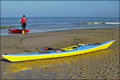 San_2372 (whatStefanSees) Tags: sea sun mer beach sports sport strand canon coast boat meer kayak gimp cote plage 62 kajak watersport d10 pasdecalais sangatte biskaya lettmann darktable