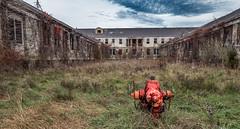 Letchworth hospital building (ronnymariano) Tags: newyork abandoned us unitedstates institution 2015 abandonedplaces letchworthvillage thiells