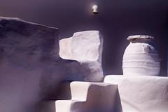 Amorgos - Lagadha - jarre 2 (luco*) Tags: house wall greece maison mur grce cyclades amorgos jarre kyklades hellada lagadha