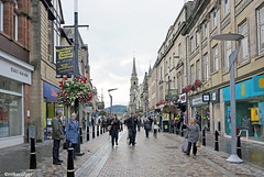 Downtown Pedestrian Street, Inverness (Mike Colyer) Tags: lighthouse castle college beach university cathedral harbour drawbridge standrews lowtide lochness inverness urquhart nairn fortgeorge chanonrypoint invermoriston