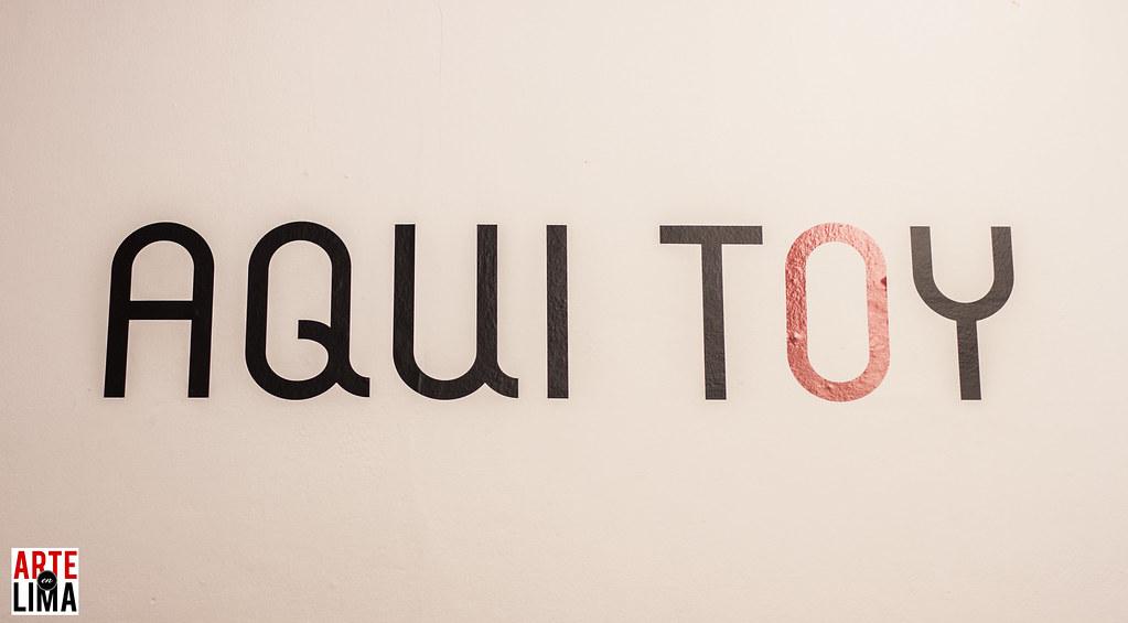 """""""AQUI TOY II"""" en Indigo"""