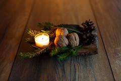 Christmas Time (S.T.A.R.S) Tags: winter abend warm parkett kerze weihnachtszeit citrus holz lichter heilig boden früchte nüsse gemühtlich