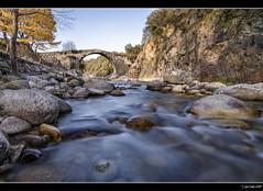 Madrigal de la Vera (Pogdorica) Tags: puente agua romano seda arroyo madrigal garganta madrigaldelavera alardos filtrond