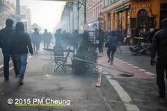 Proteste gegen Neonaziaufmarsch in Leipzig - Sdvorstadt - Connewitz - 12.12.2015 - Leipzig - le1212 IMG_8229 (PM Cheung) Tags: leipzig demonstration sachsen proteste sdvorstadt hooligans npd neonazis barrikaden csgas wasserwerfer nationalismus schlagstock krawalle rassismus naziaufmarsch gegendemonstration connewitz trnengas ausschreitungen sternmarsch sdplatz htwk rumpanzer christianworch karlliebknechtstrase pmcheung pomengcheung lotharknig facebookcompmcheungphotography dierechte pegida legida mengcheungpo silviorsler 12122015 leipzigconnwitz thgida offensivefrdeutschland leipzigbleibtrot protestfrfriedenundvlkerfreundschaft davidkckert gegenlinkenterrorunddielinkediktatur le1212