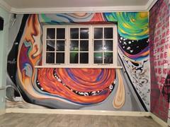 Liquid (Wheretorchlightfalls) Tags: uk graffiti mural paint nw graf spray aerosol