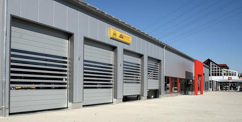 Швидкісні енергоефективні ворота. Скоростные ворота. Hi speed doors. Efaflex. Autohaus Sedlmaier-02