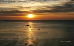 Cuando amanece.... (josemanuelvaquera) Tags: amaneceres mar agua sol nubes cielos ceuta