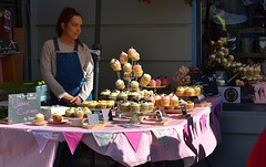 Cupcakes.. but which one? (Michael C. Hall) Tags: cupcake staff market festival dingle food