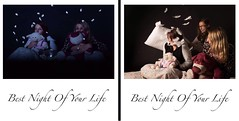 Best Night Of Your Life (Hannah Cooper.) Tags: studio photography lighting horror movie sleepover fun pillow fight polaroid