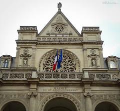 Mayor's office, first arrondissement (eutouring) Tags: paris france city life citylife pariscitylife travel architecture design details stone stonework