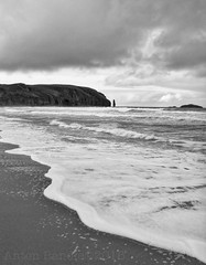 Am Buachaille (SkyeBaggie) Tags: am buachaille shepherd herdsman sandwood bay beach surf remote sutherland scotland