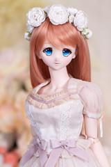 Flowery Mariko (*jadepixel) Tags: dollfie dream mariko bjd volks dd