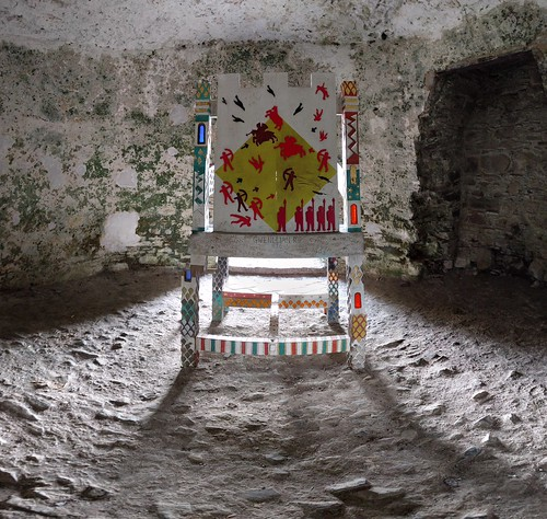 Earle-Grey Throne, Kidwelly Castle
