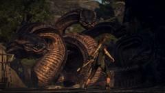 Four heads (KariganSkye) Tags: screenshot dragon dogma snake head four heads