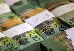 Foreign exchange - Aussie features in Asia as retail gross sales knowledge lifts sentiment (majjed2008) Tags: asia aussie data forex gains lifts retail sales sentiment reldbmgf10000322515 sydney australia