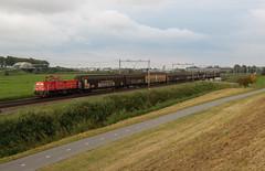 Moordrecht, goederentrein uit Alphen (Ahrend01) Tags: alphen electrolux moordrecht serie 6400 db cargo gesloten wagens