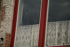 Window (Natali Antonovich) Tags: window architecture belovedbrugge brugge bruges belgium belgie belgique lifestyle glasses lace belgianlace