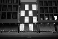 Lights On (Jontsu) Tags: sooc fujifilm x70 blackandwhite architecture street jyvskyl finland suomi window windows
