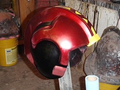 Slight Overspray (thorssoli) Tags: dwdesignstudios helmet prop costume xwing pilot replica vacform