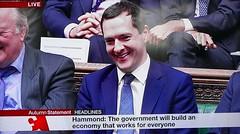 2016 1123 004 (PLX100) George Osborne; Autumn Statement (BBC2) (Lucy Melford) Tags: panasoniclx100 parliament houseofcommons autumnstatement chancellor george osborne
