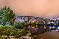Puente viejo noche (Chispie) Tags: nikon d750 ourense