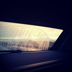 Driving home for christmas (TravelCoupleLove) Tags: berlin driving glcklich roadtrip happieness car weather home sundown parents sadness germany rain heimat sun christmas