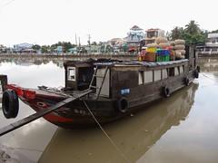 Cargo ride (program monkey) Tags: vietnam mekong river delta cargo boat ben tre tra vinh water
