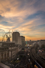 Sunset over London (stephanrudolph) Tags: sony a6000 ilce6000 s1650mm 1650mm handheld london england uk gb europe europa city cityscape urban