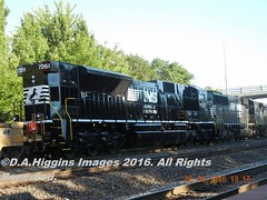 DSCN6535   #NS7261    NS 21T-05   AUG 6TH (Conrail6013) Tags: sat aug 6