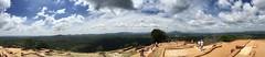 Sri Lanka, Top of the Sigiriya Rock (Unexpected Studio) Tags: cap perfect day panorama picture sun travel catchthedream dreams sky mountains srilanka sigiriya rock